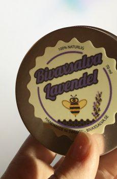 Bivaxsalva med lavendel bra i förkylningstider.