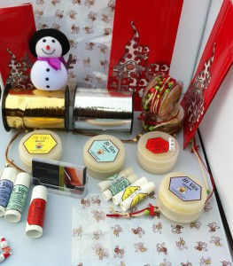Julklappar och presenter.