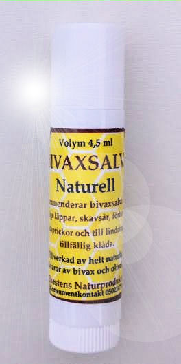 Naturlig hudsalva - Bivaxsalva.se